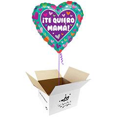 Globo Te quiero Mamá en caja sorpresa