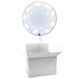 Globo Burbuja Graduación en caja sorpresa