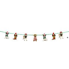 Guirnalda Navidad Perros