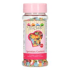 Decoración de azúcar confeti FunCakes