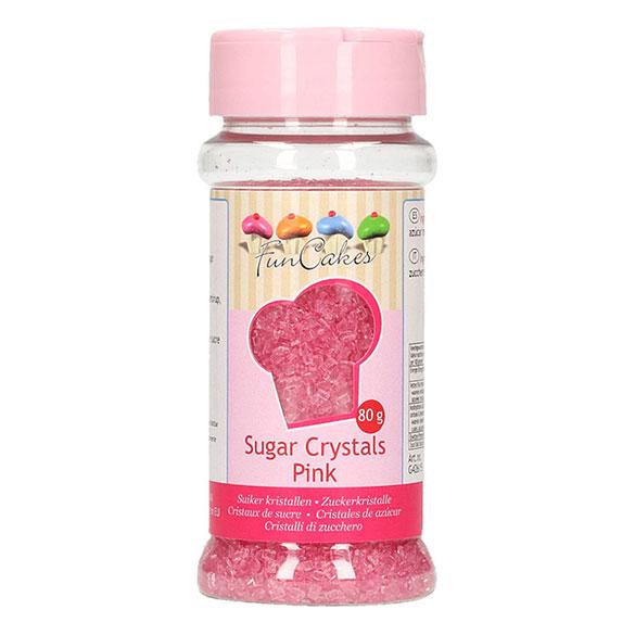 Azúcar de color rosa para decorar Funcakes