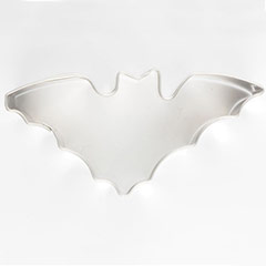 Cortador de galletas con forma de murciélago
