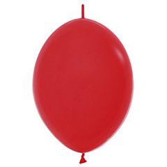 Globos de Látex Linking Rojos. Pack 25 u.