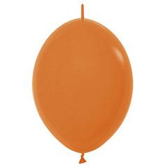 Globos de Látex Linking Naranja. Pack 25 u.