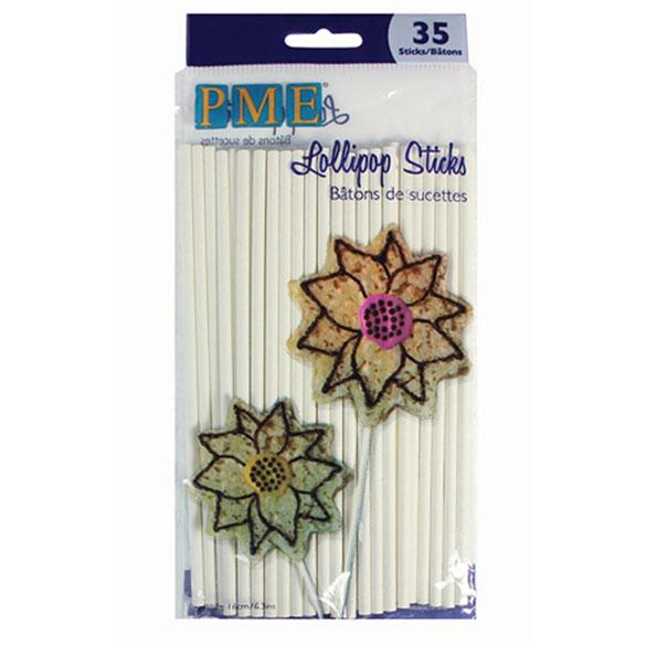 Palillos Lollypop 16,00 cm, Pack 35 u.
