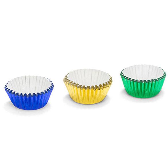 Cápsulas mini cupcakes 3 colores, Pack 75 u.