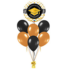 Ramo de Globos Congratulatios Graduate Redondo