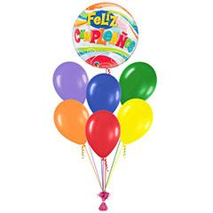 Ramo de Globos Feliz Cumpleaños Burbuja