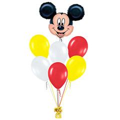 Ramo de Globos Cara Mickey Mouse