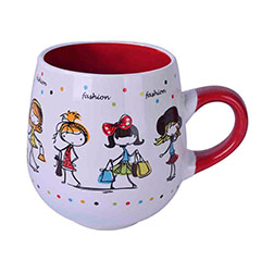 Taza bicolor Fashion