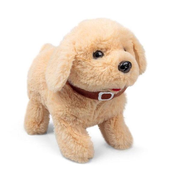 Cachorro labrador con movimiento