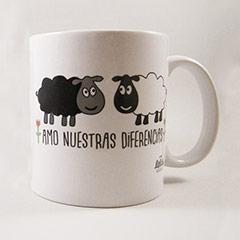 Taza ovejas, Amo nuestras diferencias