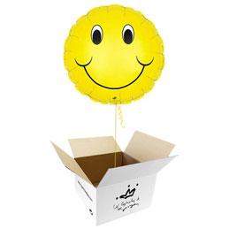Globo Smile, sonrisa feliz en caja sorpresa