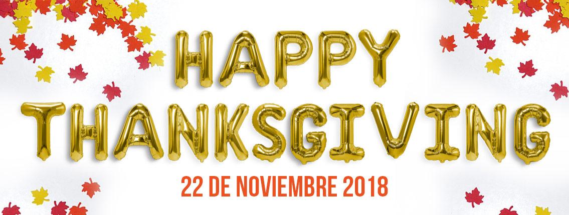 Acción de Gracias 2018
