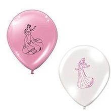 Globos de Látex Princesas Disney colores surtidos. Pack de 8 globos - Ítem1