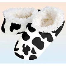 Zapatillas o Slippers para la casa modelo vaca T/40-41 - Ítem1