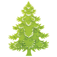 Cortador Árbol de Navidad XL - Ítem1