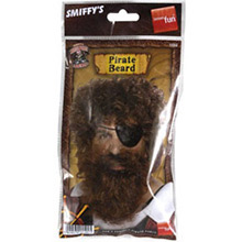 Barba y bigote marrón - Ítem1