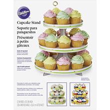Bandeja cupcakes 3 pisos cartón personalizable - Ítem1