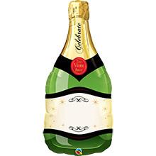 Globo forma Botella de Champagne o Cava - Ítem1