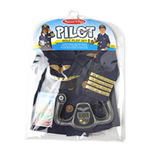 Disfraz piloto infantil - Ítem1