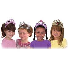 Coronas y tiaras infantiles, Pack 4 u. - Ítem2