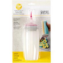 Botella dual de plástico para marmolado - Ítem1