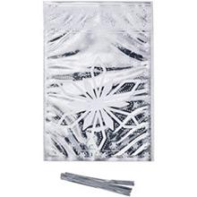 Bolsas metalizadas copos de nieve golosinas y galletas, Pack 20 u. - Ítem2