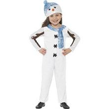 Disfaz muñeco de nieve infantil - Ítem1
