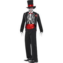 Disfraz esqueleto trajeado - Ítem1