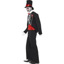Disfraz esqueleto trajeado - Ítem3