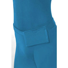 Disfraz sombra, malla azul - Ítem2