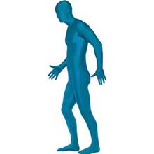 Disfraz sombra, malla azul - Ítem5