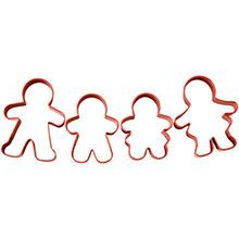 Cortadores galletas Muñecos de Jengibre Wilton, Set 4 u. - Ítem2