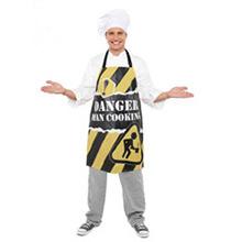 Delantal Danger Hombre cocinando - Ítem1