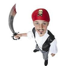 Disfraz pirata bucanero infantil - Ítem1