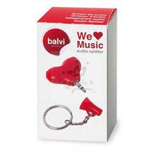 Divisor de audio We Love Music - Ítem1