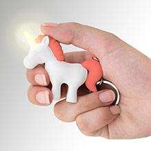 Llavero unicornio blanco y rojo - Ítem2