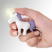 Llavero unicornio blanco y morado - Ítem2