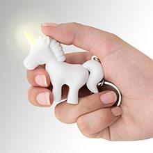 Llavero unicornio blanco - Ítem2