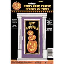Cartel puerta plástico Happy Halloween - Ítem1