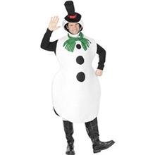 Disfraz muñeco de nieve - Ítem1
