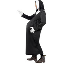 Disfraz monja embarazada - Ítem2