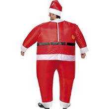 Disfraz Papá Noel inflable - Ítem1