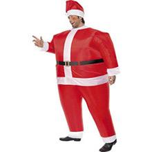 Disfraz Papá Noel inflable - Ítem2