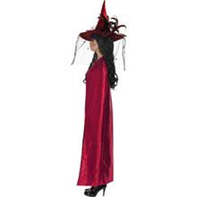 Capa reversible roja y negra adulto - Ítem2