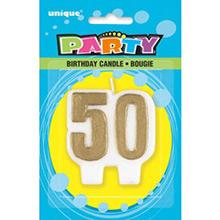 Vela aniversario 50 años - Ítem1