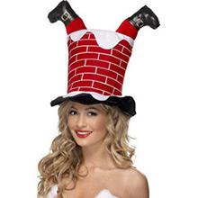Sombrero Chimenea de Papá Noel atrapado - Ítem1