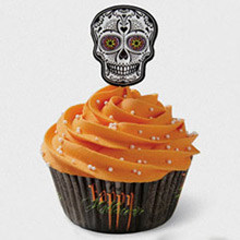Decoración cupcakes Halloween, Pack 24 u. - Ítem1