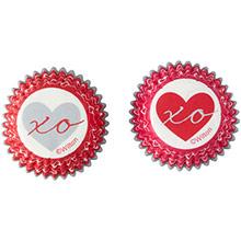 Cápsulas mini cupcakes corazones, Pack 100 u. - Ítem2